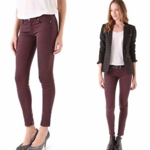 PAIGE verdugo Ankle Skinny Jeans Red size 30